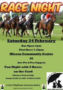 Race night Feb